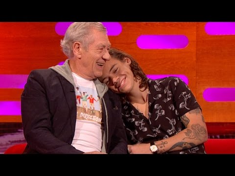 One Direction & Sir Ian McKellen are fans of each other - The Graham Norton Show: Series 16 - BBC