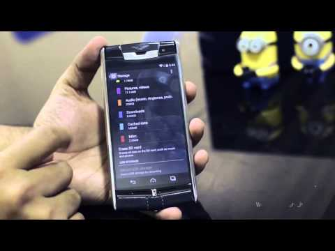 Vertu - The Luxury Mobile Phone (Review)
