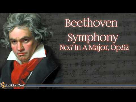 Beethoven: Symphy No 7 in A Major, Op 92  Classical Music