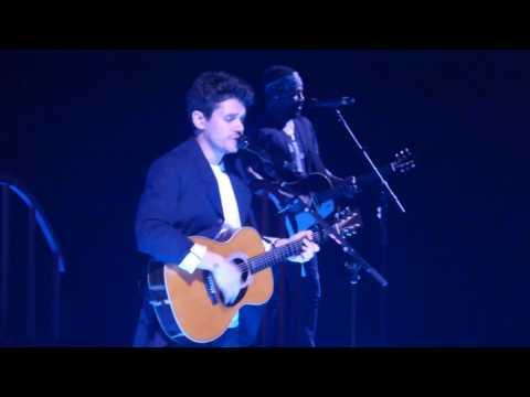 John Mayer - Free Falling 4/11/17 United Center Chicago, IL 2:2