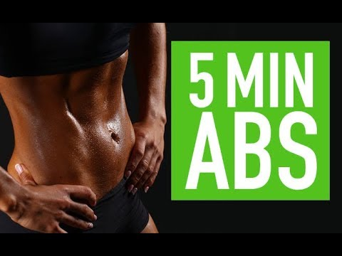 5 Minute EXPRESS ABS | Upper & Lower Core