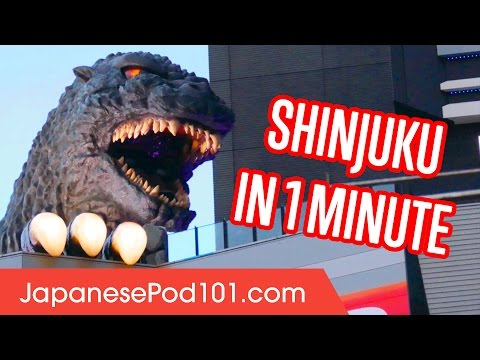Shinjuku in 1 minute - Best of Tokyo Districts
