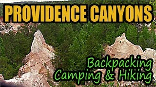 Providence Canyons Backpacking, Camṗing and Hiking