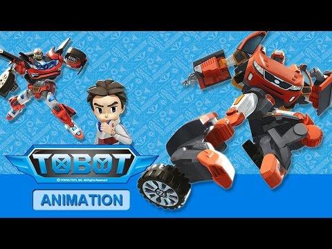 Full Tobot Robot Orange Car Color Transformers Athlon Rocky, Evolution, Tritan Mainan Toys