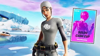 SOLO CASH CUP | The end: 79 Points | ! Lid ! Coins | Code: Prxsent | Fortnite NL