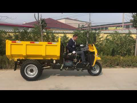 SL Diesel Engine Mining Dump Tricycle Manufacturers