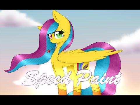 You're Beautiful, Rainbow Brush (Art Trade) - Mlp Speedpaint