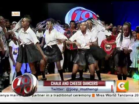 Chalk and Geese Dancers sizzling performance on 10 Over 10