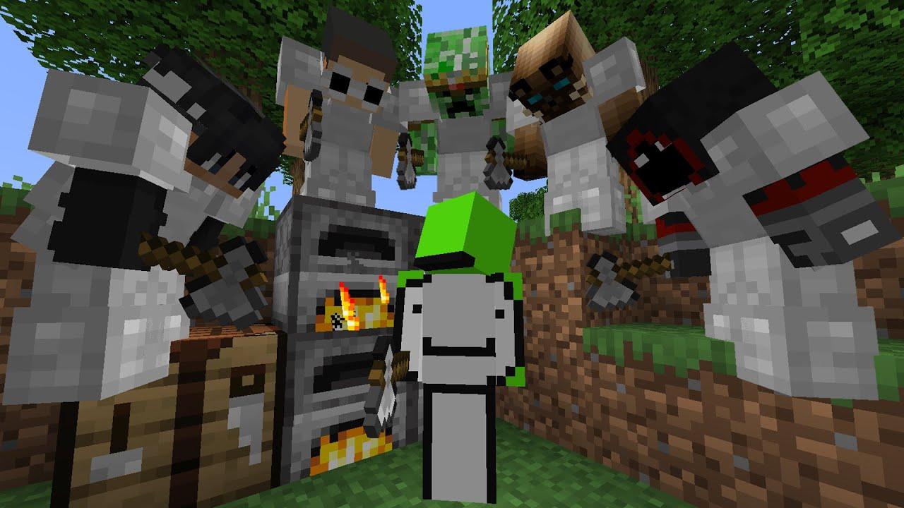 Download Minecraft Speedrunner VS 5 Hunters
