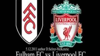 Fulham FC vs Liverpool FC 5.12.2011 SelMcKenzie Selzer-McKenzie