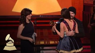 Kacey Musgraves Wins Best Country Album | GRAMMYs