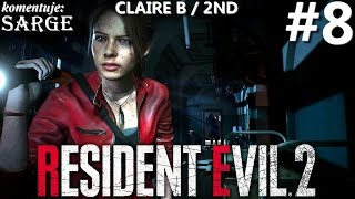 Zagrajmy w Resident Evil 2 Remake PL | Claire B | odc. 8 - Figury szachowe | Hardcore