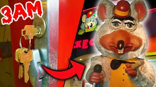 We Found KEYS at an ABANDONED Chuck E Cheese at 3AM!!! (*HAUNTED*)