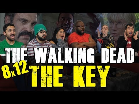 The Walking Dead - 8x12 The Key - Group Reaction