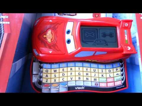 vtech disney pixar cars 2 lightning mcqueen learn