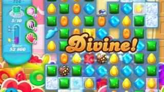 Candy Crush Soda Saga Level 726 (10 bears, 3 Stars)