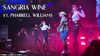 Camila Cabello & Pharrell Williams - Sangria Wine (Never Be The Same Tour)