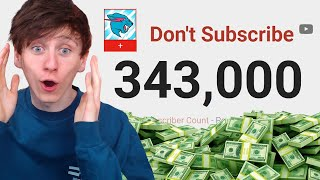 MrBeast's SECRET Youtube channel is already on 300k subs! (Don't Subscribe)