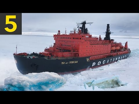 5 Ice Breaking Ships Braving the Arctic Circle