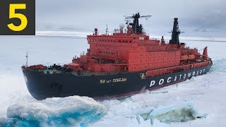 Download 5 Ice Breaking Ships Braving the Arctic Circle Mp3 and Videos