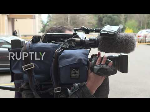 Switzerland: Moscow and Cairo Syrian opposition delegations arrive for first UN meeting