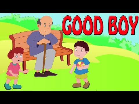 Good Boy | Animated Grandpa Story for Children in English
