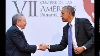 Obama, Castro hold