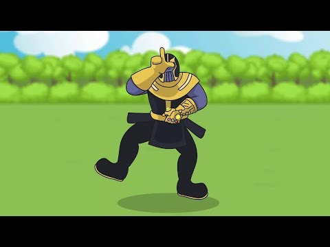 Fortnite Animation #1: THANOS INFINITY GAUNTLET (Parody)