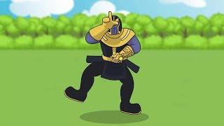 Fortnite Animation #1: THANOS INFINITY GAUNTLET (Parody)