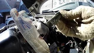 Замена манжет главного тормозного цилиндра(ГТЦ) ВАЗ 2110// Прокачка тормозов без помощника