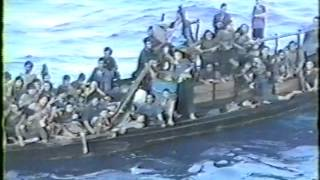 Canadian Navy Vietnam Boat People Rescue 1990
