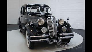 BMW 326 Sedan 1936 In beautiful condition -Video- www.ERclassics.com