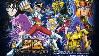 Saint Seiya Soldiers Soul Gameplay PS4 Seiya Pegasus x Aiolia Leo 1080p