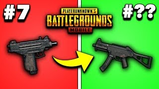 EVERY GUN IN PUBG MOBILE RANKED FROM WORST TO BEST 2019! (SMGs)