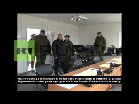 Russia: Putin inspects airborne operation at Black Sea