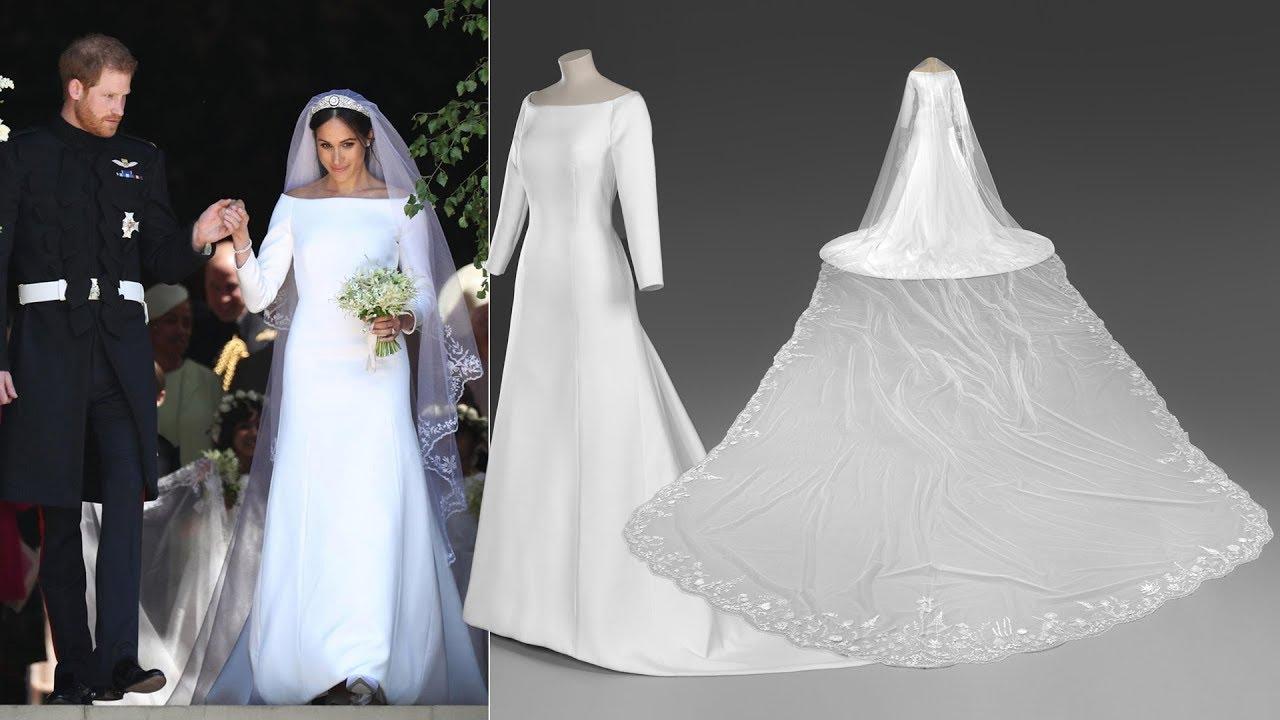 Duchess Meghan S Wedding Gown And Tiara Prince Harry S Uniform