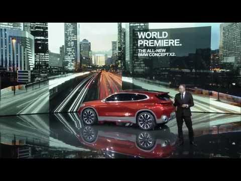 BMW Group Press Conference at the 2016 Paris Motor Show | AutoMotoTV