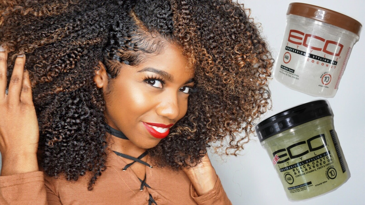Part 2 How I Lay My Edges Review Of Eco Styler Black
