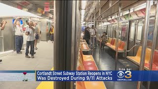 Subway Station Destroyed During 9/11 Attacks Reopens In NYC