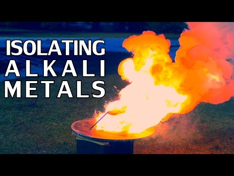 Experiments For Isolating Alkali Metals | Sodium & Potassium - [Part 1] - NightHawkInLight