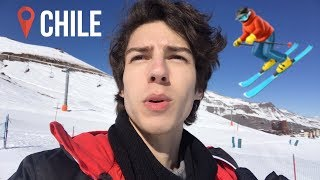 Chile travel vlog (first time skiing, new ep, haunted vineyard)