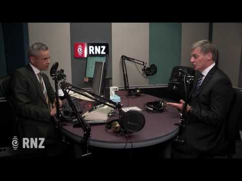Prime Minister Bill English on Morning Report, 13 February 2017.
