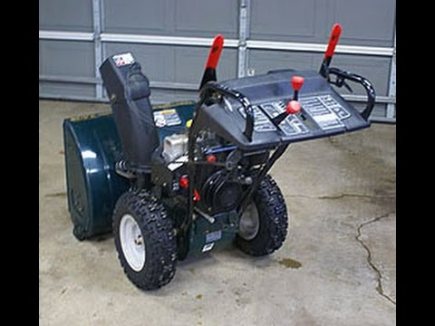 craftsman snow blower 8hp snow king tecumseh engine. Black Bedroom Furniture Sets. Home Design Ideas