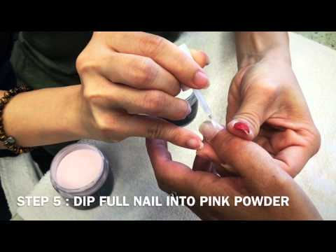 Dip Powder Nails: How To Do A French Manicure