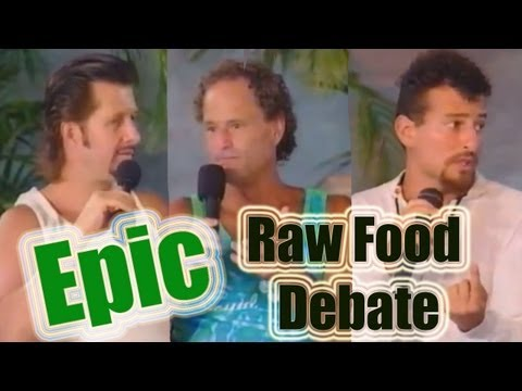 Raw Food Debate: Dr. Douglas Graham, David Wolfe, & Brian Cl