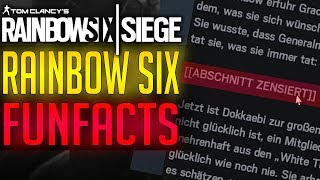 FUN FACTS SPECIAL | Rainbow Six Siege
