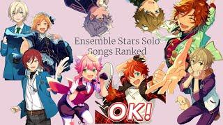 Gambar cover Ensemble Stars Solo Songs Ranked
