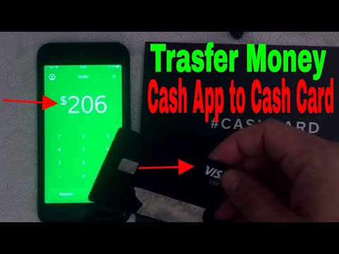 ✅  How To Transfer Money From Your Cash App To Your Cash Card Visa 🔴