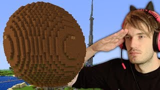 Built A G ANT MEATBALL In Minecraft Emotional