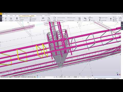 Tekla: REBAR: Analysis, Design, modeled, documented..WOW!